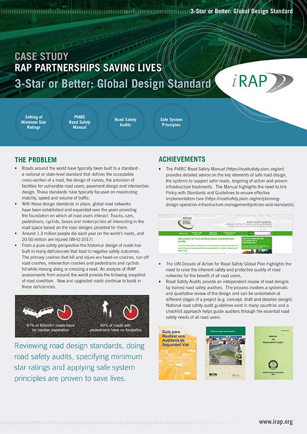 3 Star or Better:<br /> Global Design Standard