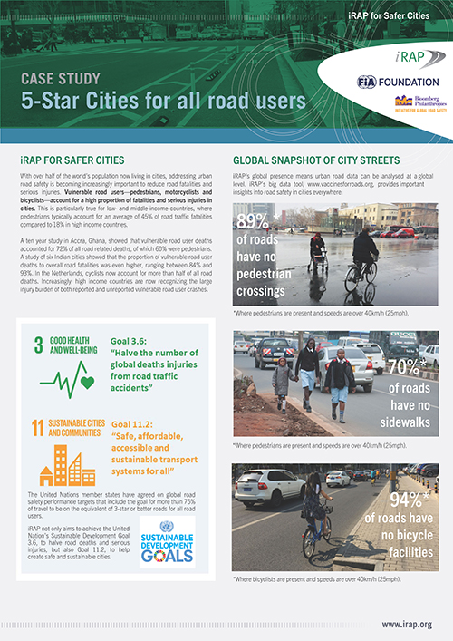 5-Star Cities for all road users